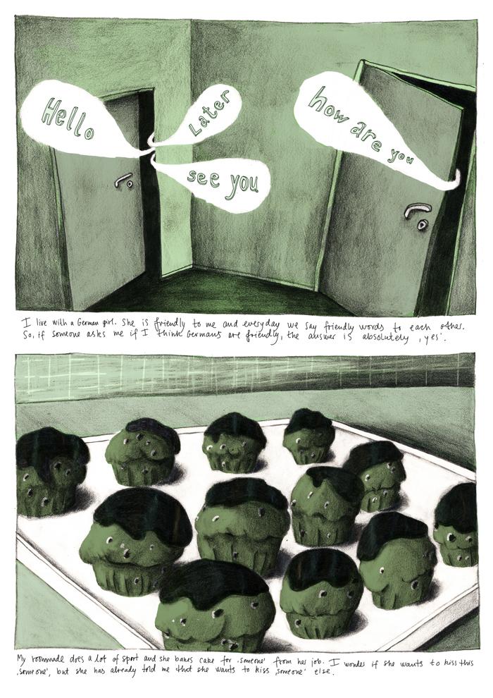 Love Comic page1