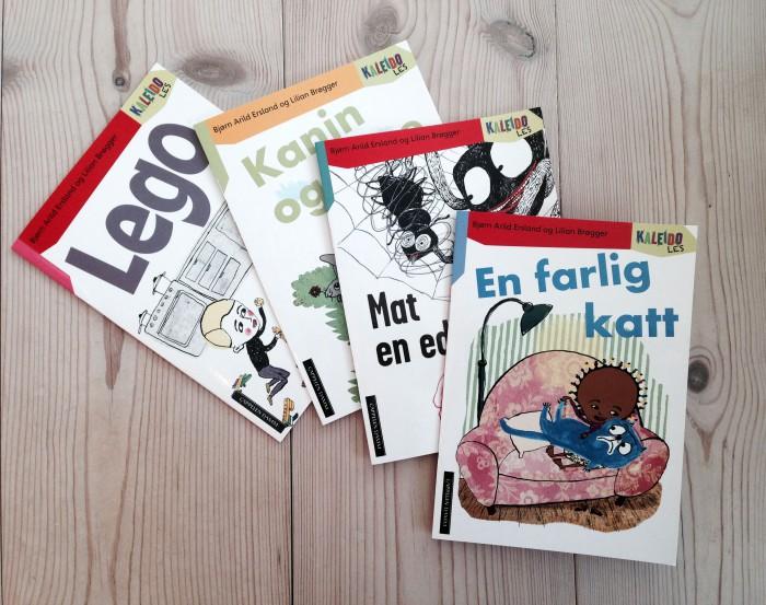 4 bøger